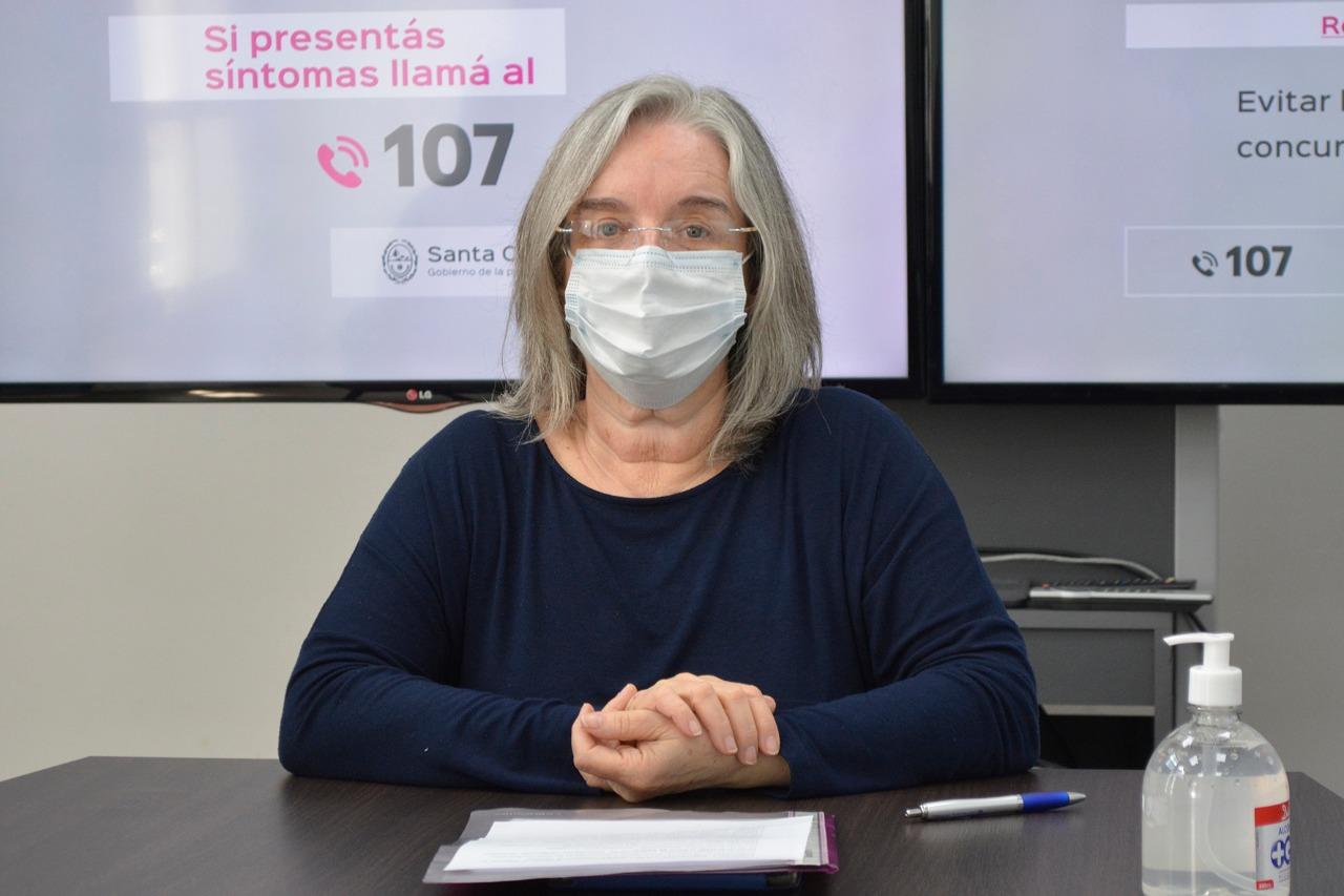 Beatriz Muñiz Muñiz, del equipo de la Coordinación General de Enfermedades Crónicas No Transmisibles (ECNT).