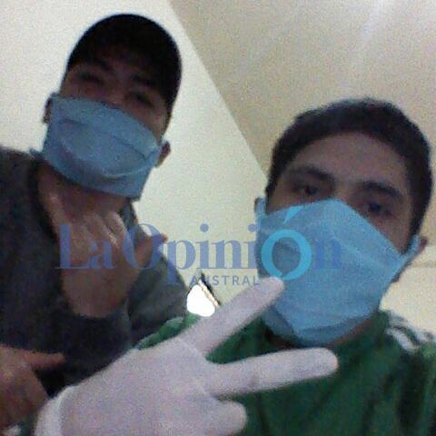 Jonathan Álvarez y Braian Barría, presos con Covid del Anexo 5 del SPP.