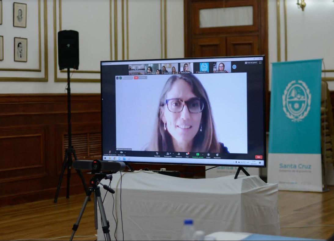 Elizabeth Gómez Alcorta - Ministra de las Mujeres, Géneros y Diversidad de la Nación