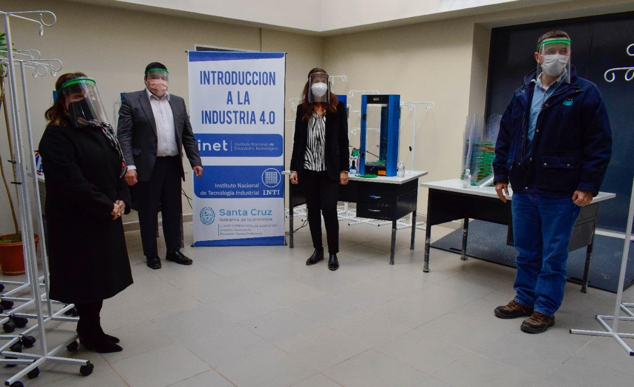 María Cecilia Velázquez, Claudio García, Rocío Campos y Pablo Aversano de CGC.
