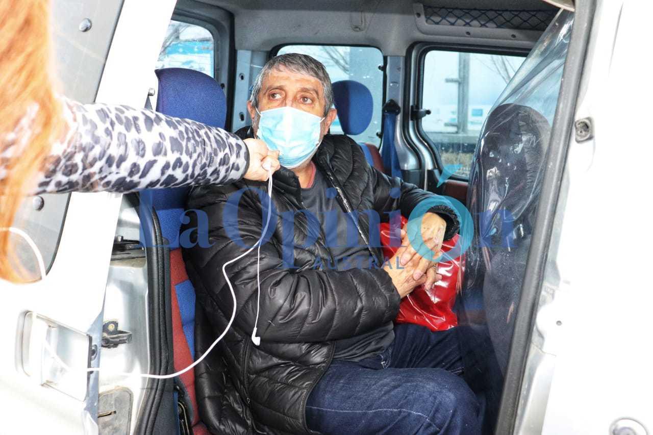 Jorge, el paciente recuperado. FOTOS: JOSÉ SILVA