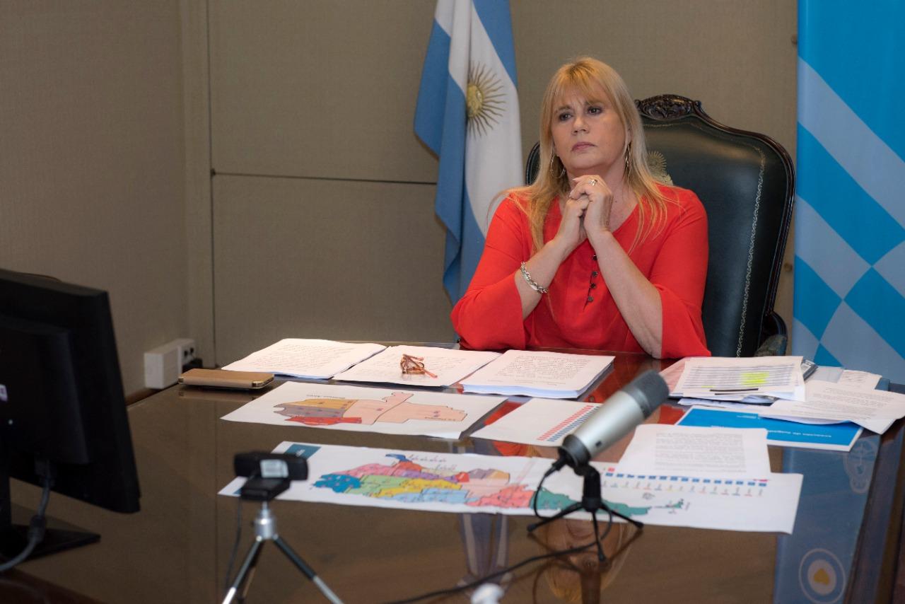 Marcela Losardo, ministra de Justicia y Derechos Humanos.