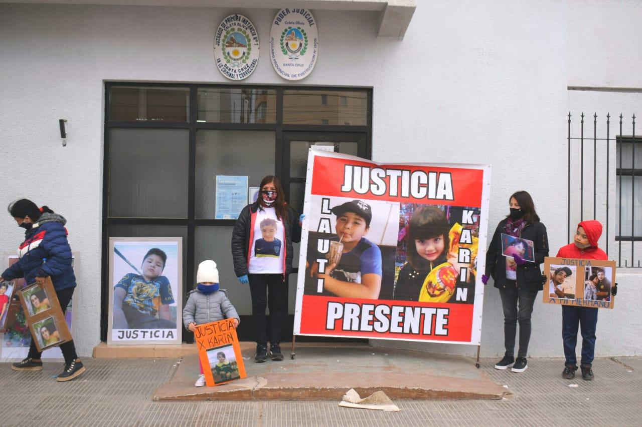 La de este sábado fue la octava marcha que realizan pidiendo justicia. FOTO: DAVID CAPITANELLI