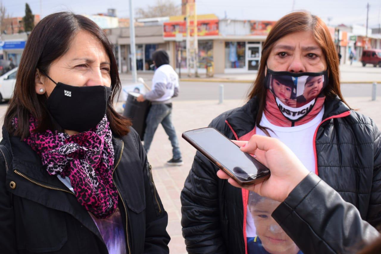 Olga Vera y María del Carmen Ñancunfil dialogaron con La Opinión Zona Norte. FOTO: DAVID CAPITANELLI