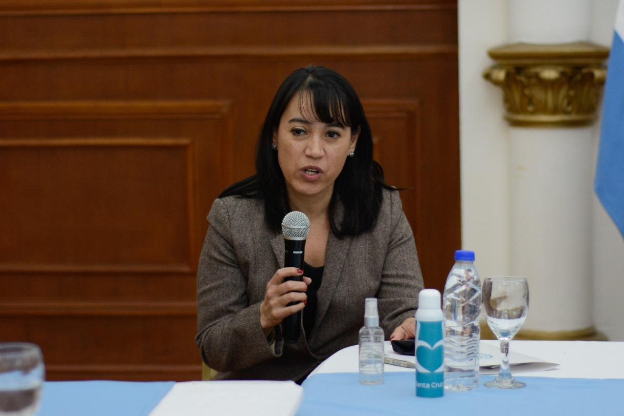 La presidenta del Tribunal Superior de Justicia, Paula Ludueña