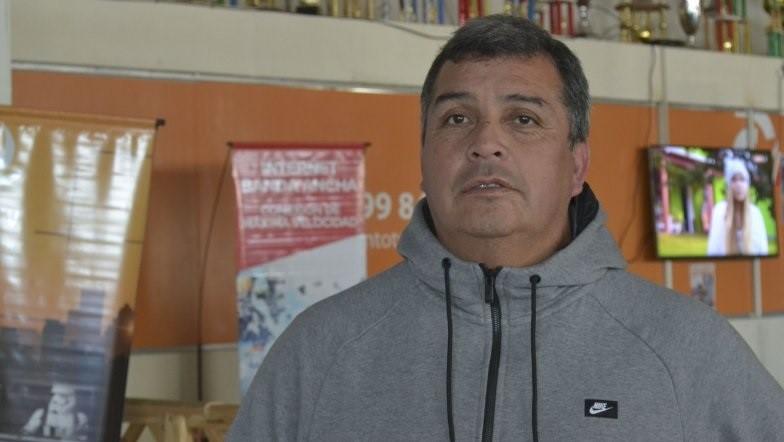 Marcelo Valencia, formador de jugadores en la CAI.