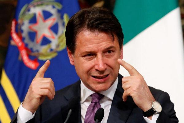 Giuseppe Conte, primer ministro de Italia.