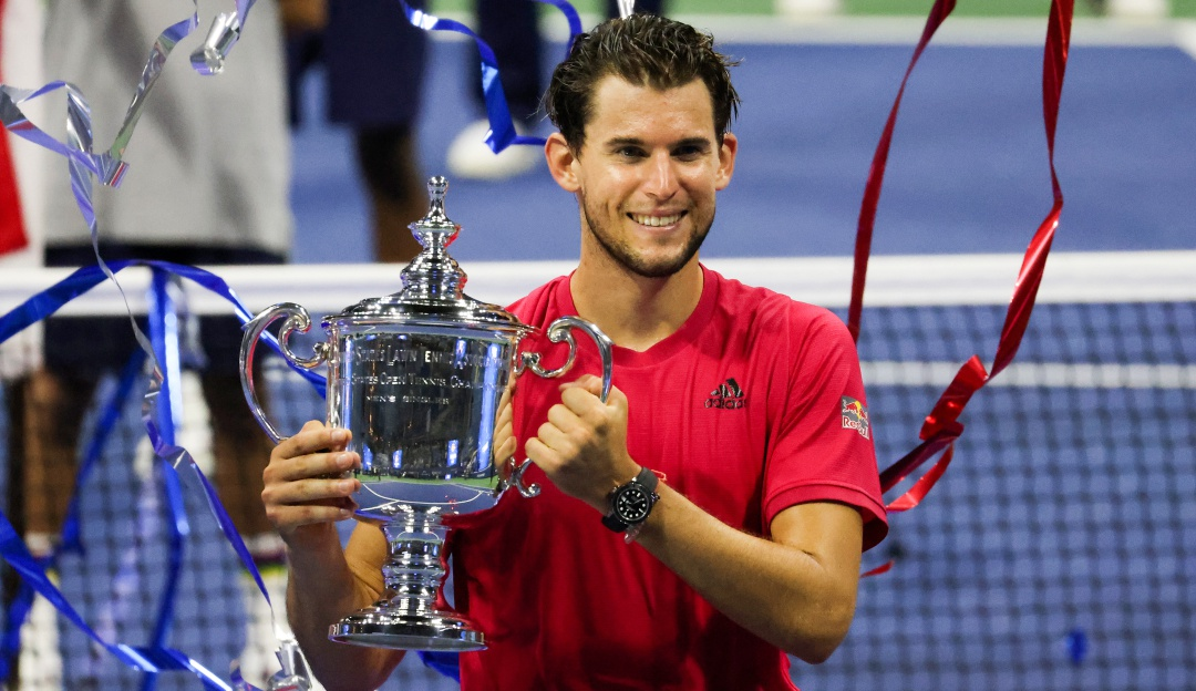 Su primer Grand Slam: El austríaco se consagró campeón del US Open 2020.