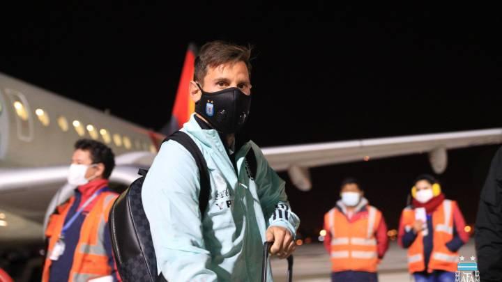 Lionel Messi, será titular frente al seleccionado boliviano.