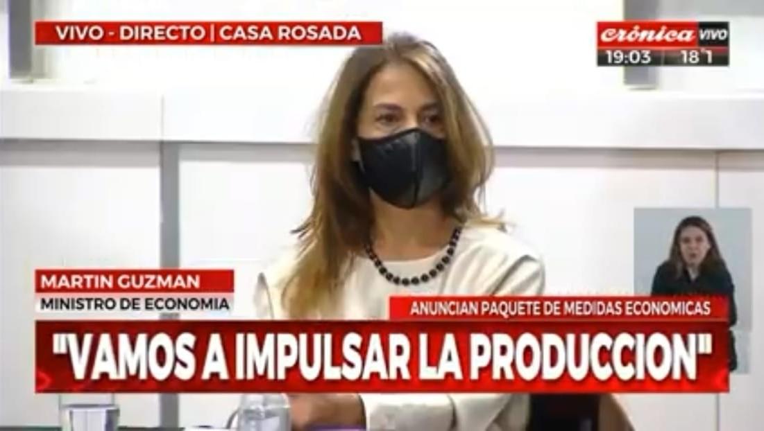 Eugenia Sampalione, vicepresidenta 2ª de CAEM estuvo presente en el acto.