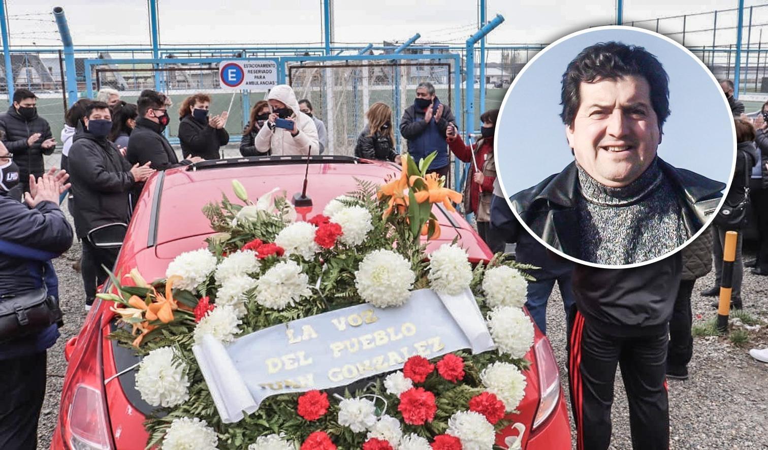 Homenaje a Juan González en cancha Enrique Pino.