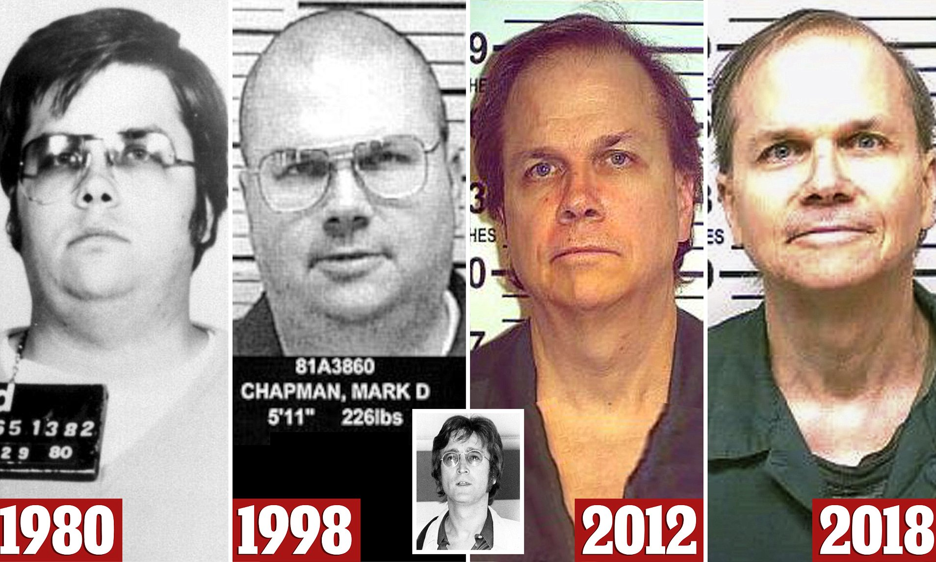 Mark David Chapman el asesino de John Lennon.