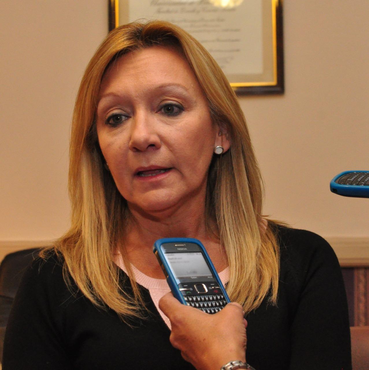 Secretaria del juzgado, Ana Cecilia Álvarez.