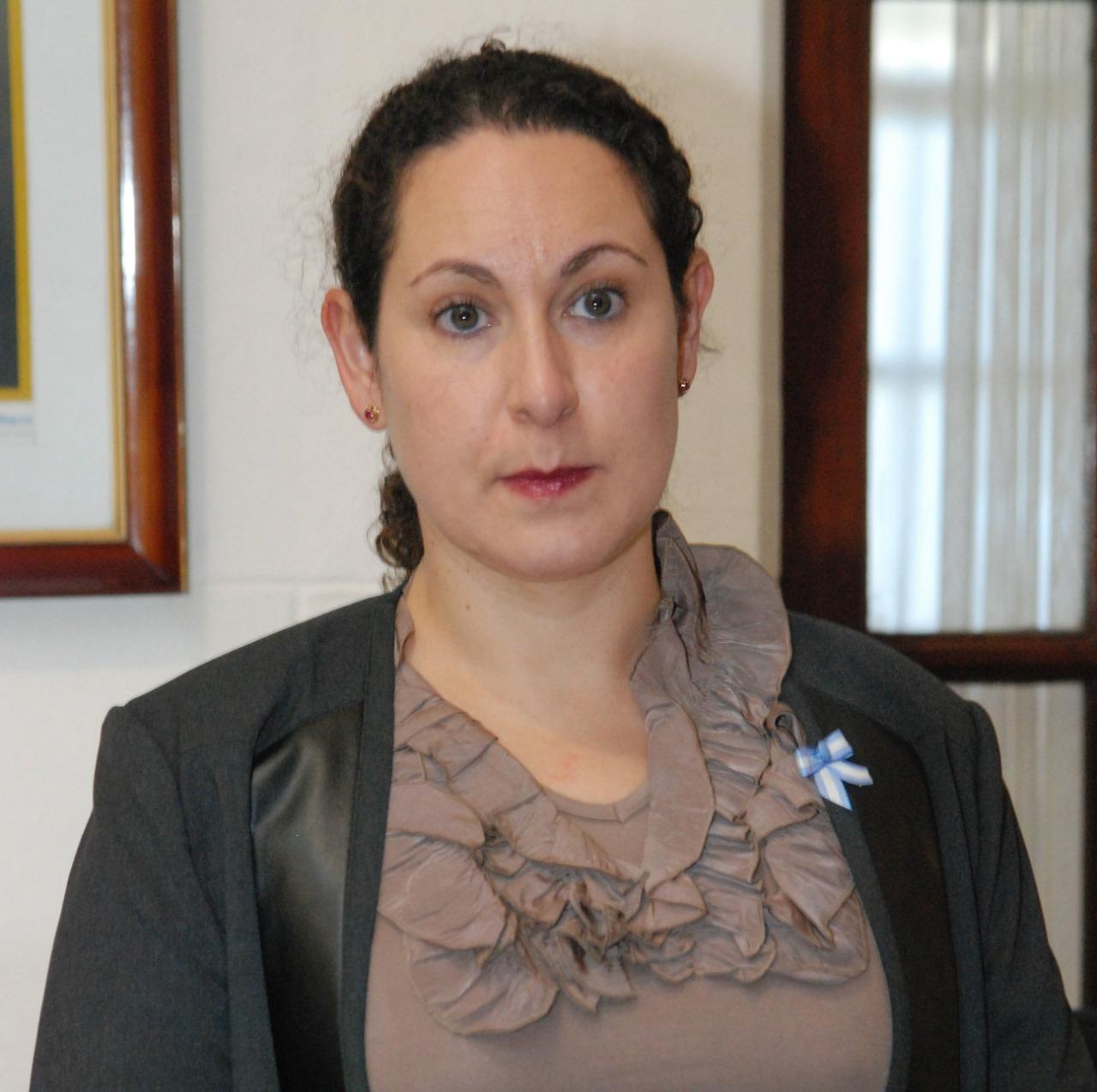 Ex subrogante del juzgado de Río Gallegos, Andrea Eskenazi Vera.