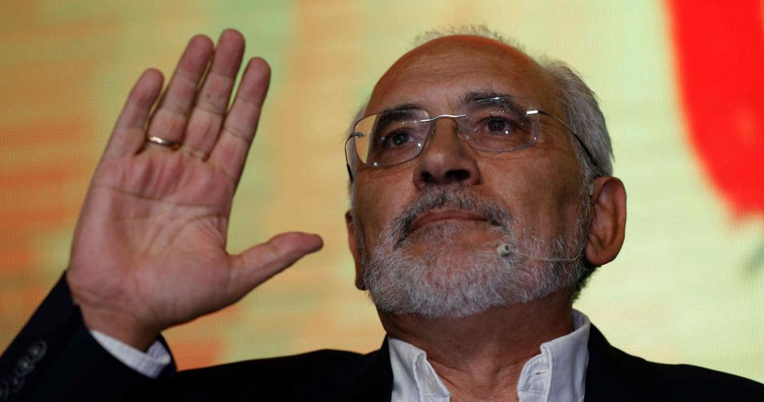 Carlos Mesa se presenta por la alianza Comunidad Ciudadana.