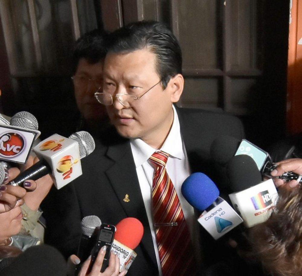Chi Hyun Chung, candidato del Frente para la Victoria.