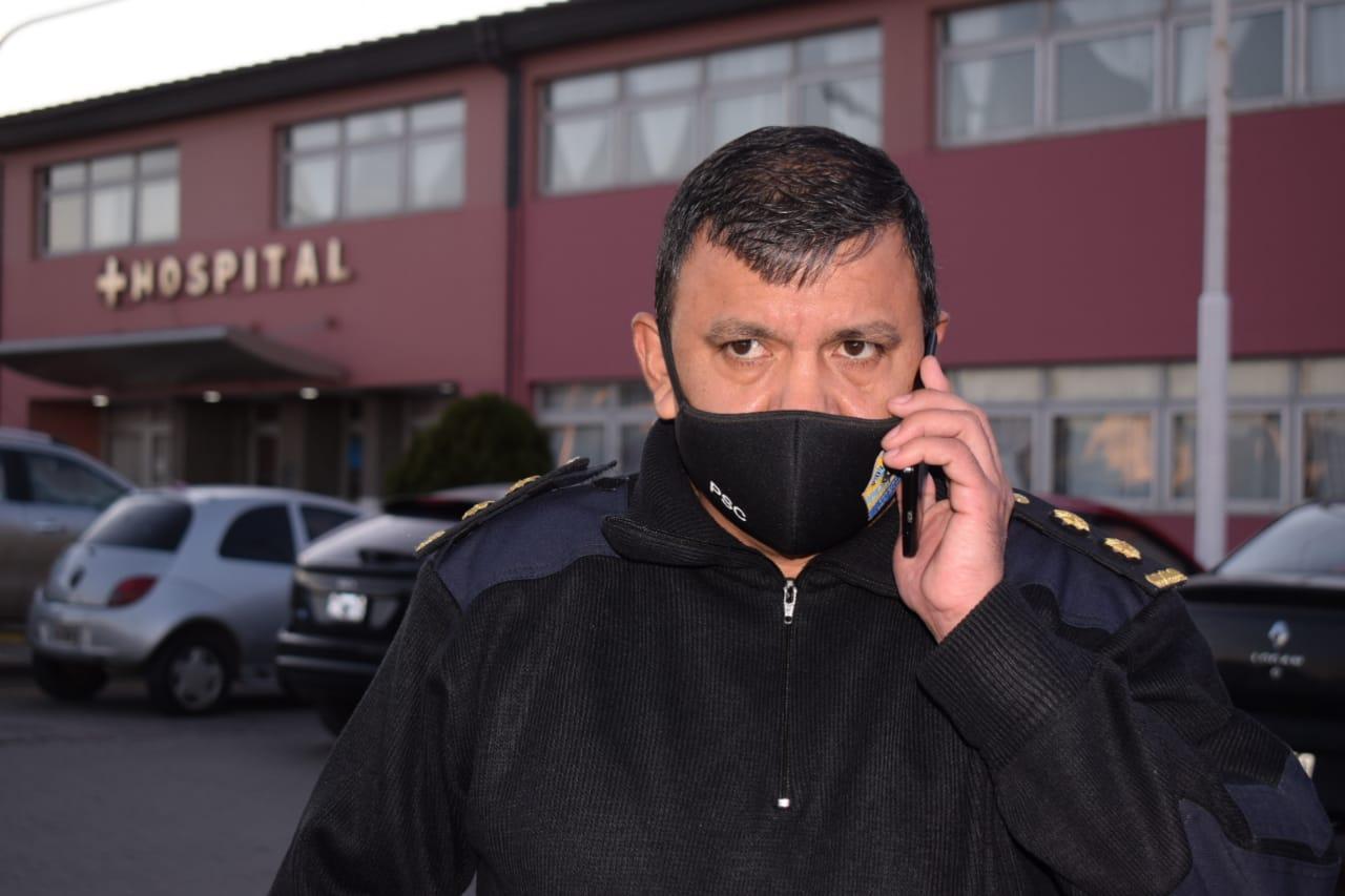 Comisario Pablo Rodríguez. Foto: David Capitanelli/La Opinión Zona Norte
