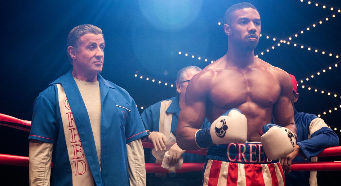 Creed 2: Rocky maestro junto a Adonis.