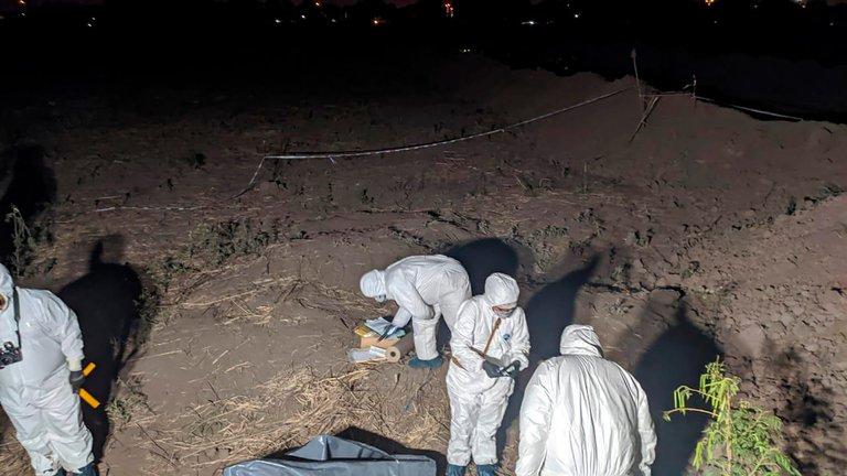 El cuerpo de la nena fue hallado a 400 metros de su casa. FOTO: MINISTERIO PÚBLICO FISCAL