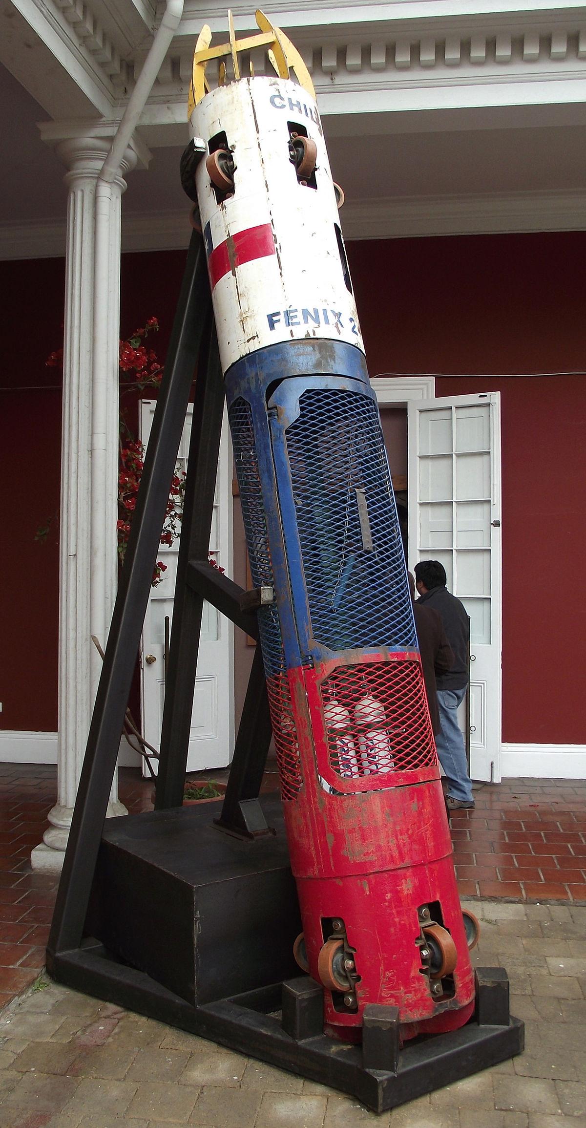 'Fénix 2', la cápsula original se encuentra en el Museo Regional de Atacama.