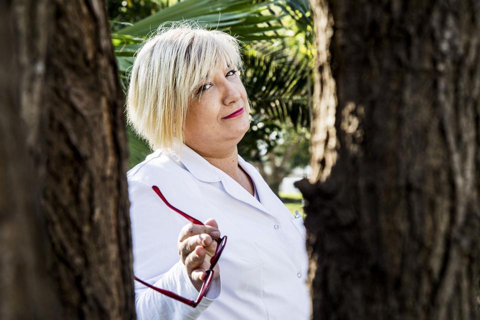 Infectóloga Gabriela Piovano