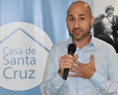 Andrés La Blunda, hoy es titular de la Casa de Santa Cruz en la Capital Federal.