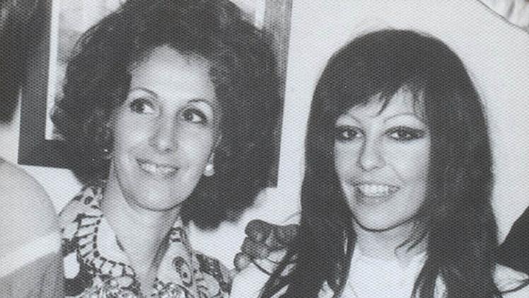 Estela junto a su hija Laura secuestrada en noviembre 1997. En cautiverio tuvo un hijo con un militante santacruceño llamado Ignacio Montoya.