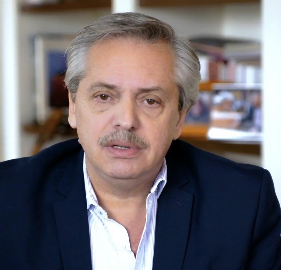 Alberto Fernández: estará en Neuquén para la presentación del Plan.