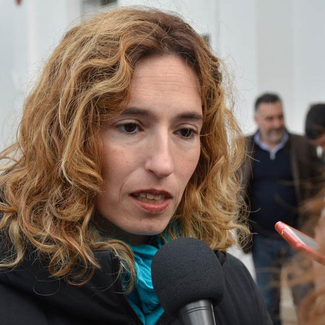 Rocío García (FdT).