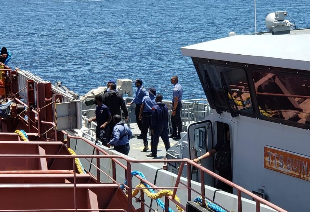 El 28 de agosto llegaron a Trinidad y Tobago. A los pocos días, los interceptaron las fuerzas de seguridad.