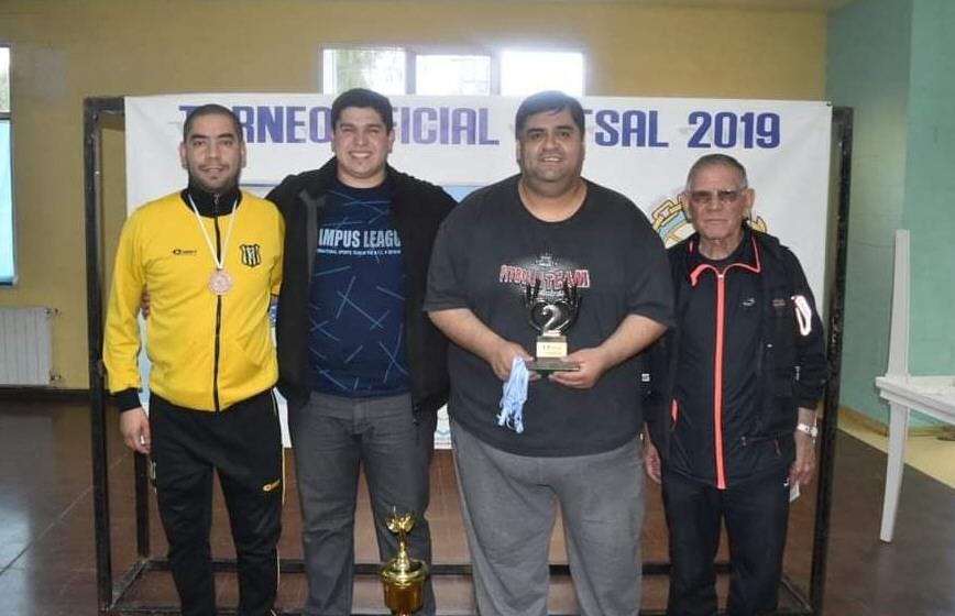 Carlos Bahamonde, Marcos Tello, Carlos González y Jacinto Cáceres.