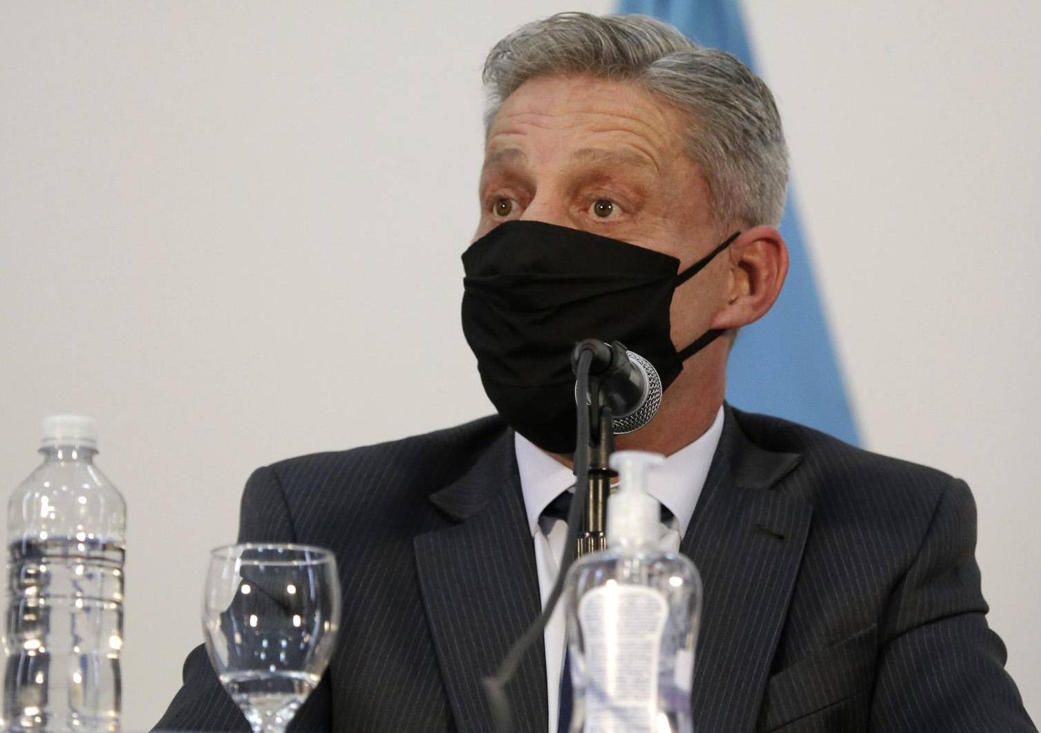 Mariano Arcioni, gobernador de la provincia de Chubut.