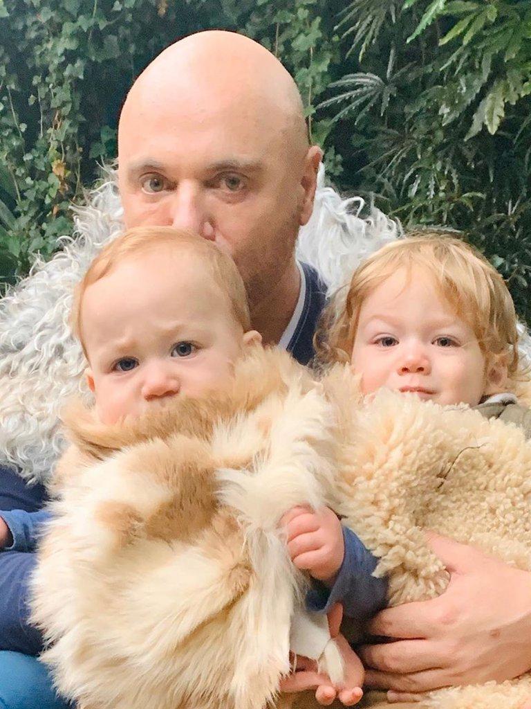 El Chef y sus dos hijos