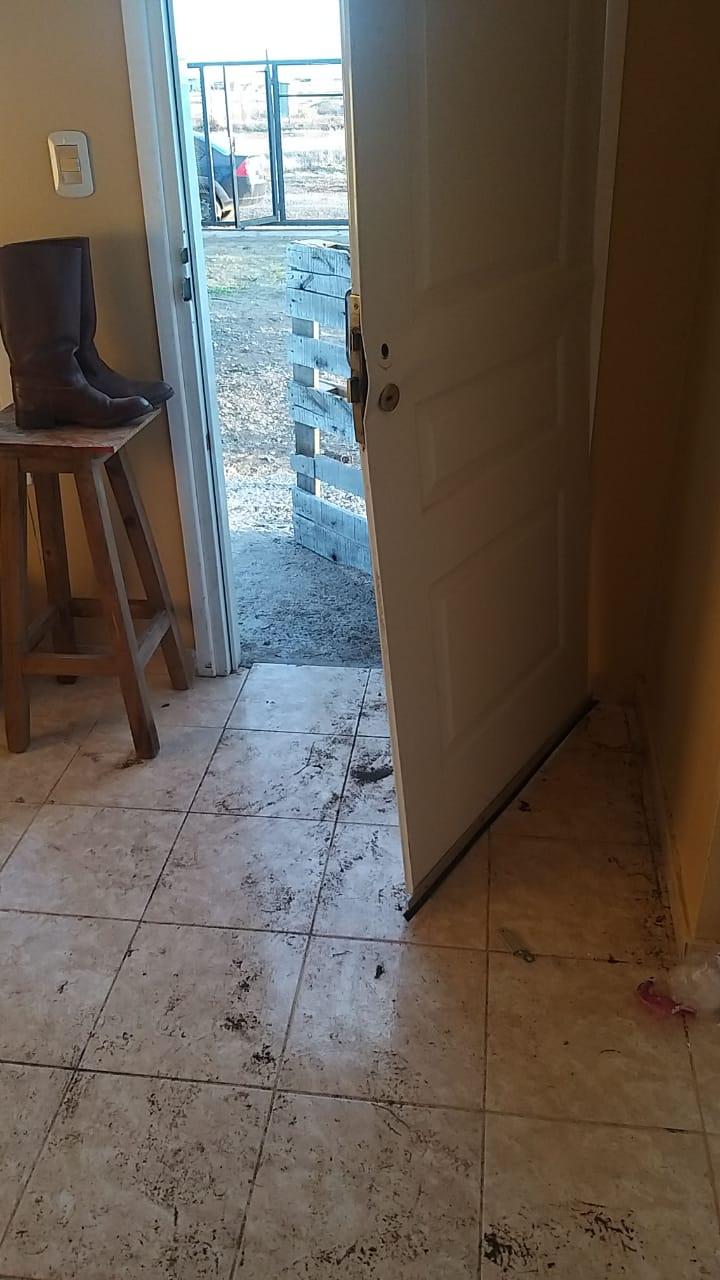 La semana pasada se produjo el robo en una vivienda del barrio.