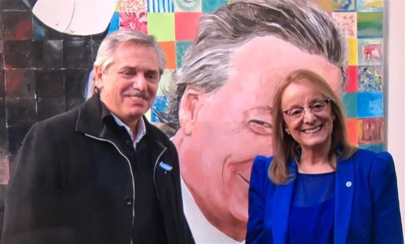 El 20 de mayo de 2019, el candidato a presidente Alberto Fernández visitó Río Gallegos. FOTO: JOSÉ SILVA / LA OPINIÓN AUSTRAL.