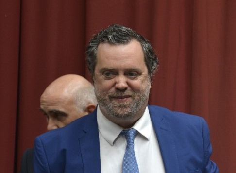 Dr, Ricardo Albornoz, secretario Electoral de Santa Cruz.