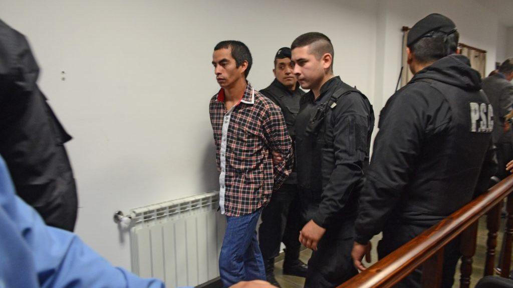 Ángel Azzolini, condenado a seis años de prisión por encubrimiento agravado.