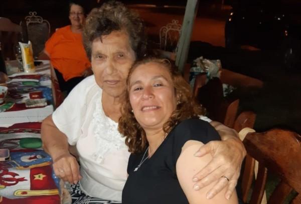 Carmen y su mamá