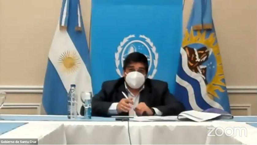 Claudio García dialogó con periodistas de zona sur de la provincia.