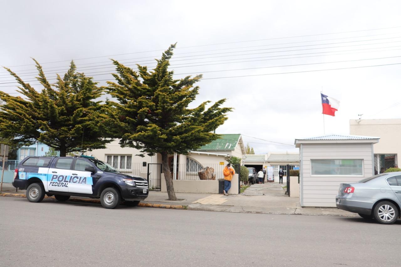 Consulado de Chile en Río Gallegos.