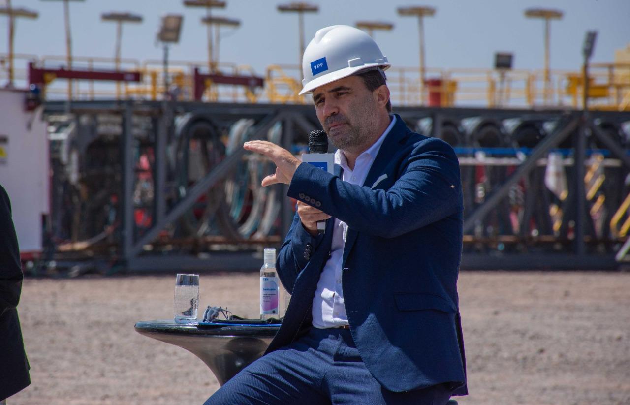 Darío Martínez, secretario de Energía.