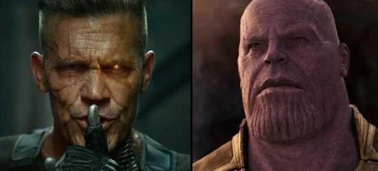 El actor tiene a su favorito entre interpretar a Thanos o Cable.