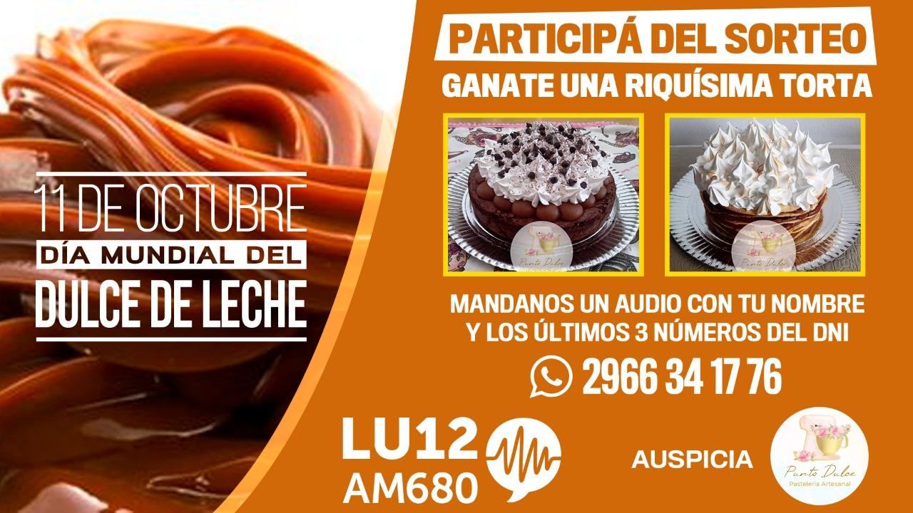 LU12 AM680 Río Gallegos sortea una riquísima torta. ¡Participá y ganá!