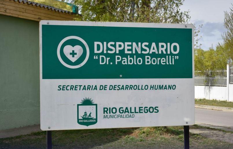 El Centro de Salud está ubicado en esquina de Costa Rica y Las Heras. FOTO: MUNICIPALIDAD DE RÍO GALLEGOS