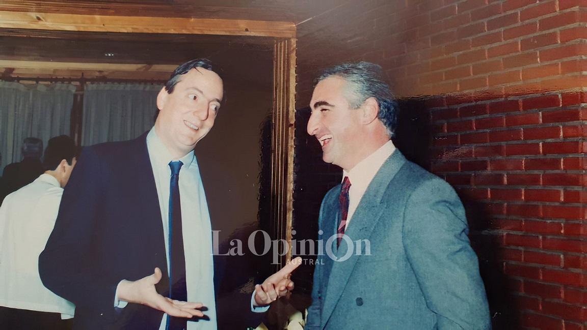1988. Ramón Granero y Néstor Kirchner tenían una relación de respeto. Pese a haber sido adversarios, supieron construir una amistad.