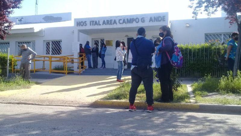 Vecinos y trabajadores del Hospital de Campo Grande pidieron seguridad y Justicia por Vega.