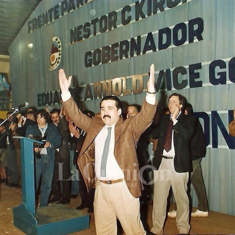 Julio Ciurca acompañó a Néstor Kirchner en sus inicios en la política. FOTO: JULIO CIURCA
