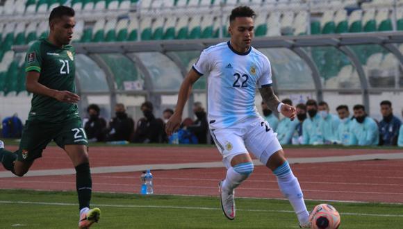 Lautaro Martínez marcó el gol del empate.