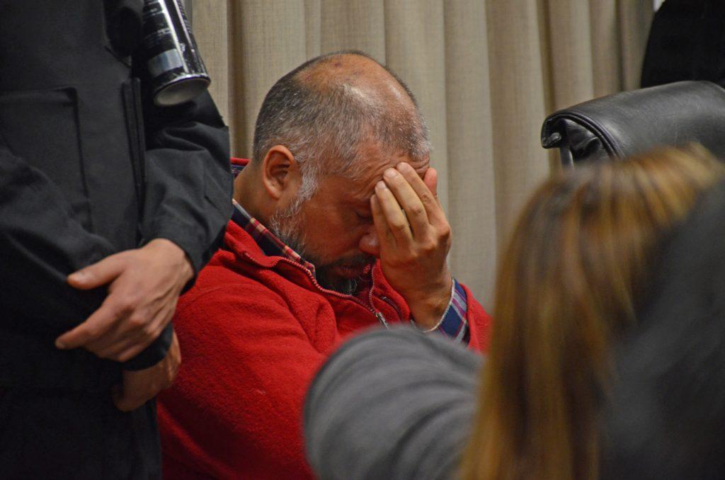 Óscar Biott, sentenciado a perpetua por homicidio agravado por el odio por condición de género.