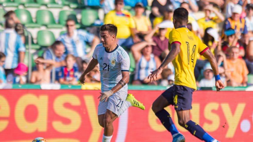 El último enfrentamiento fue en octubre de 2019. Argentina venció 6-1 a Ecuador en el amistoso.